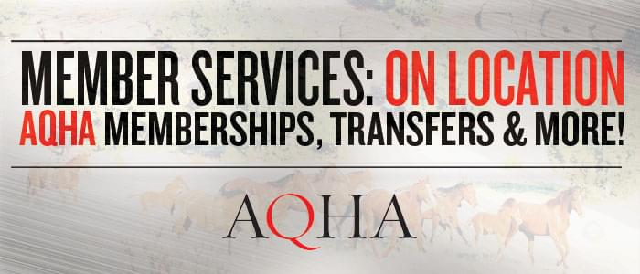 AQHA Member Services on Location